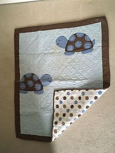 Turtle theme nursery set