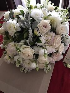 Large fresh flower centre pieces from my wedding last night Cabramatta West Fairfield Area Preview