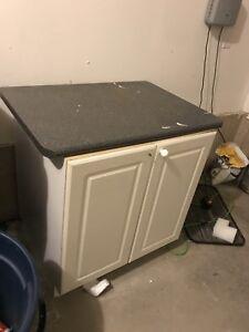 FREE kitchen island cabinet