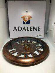 Adalene Wall Clocks Battery Operated Non Ticking - Completely Silent Quartz Move