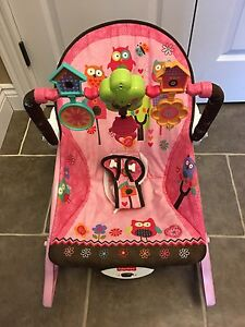Pink Infant to toddler rocker - Excellent Condition