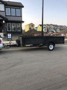 13' utility trailer