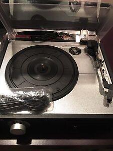 NEW Lenoxx TT500 Turntable/Cassette Player with PC Link Mortlake Canada Bay Area Preview