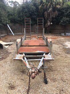 Plant trailer small