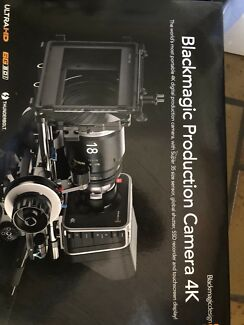 For sale Blackmagic Production Camera 4K