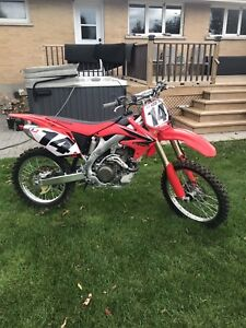 2008 CRF450R mint!! Low low hours!