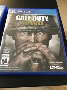 Call of duty ww2 in mint condition