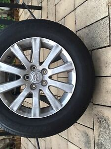 "Mazda CX-7 18"" tyres & rims North Lambton Newcastle Area Preview"