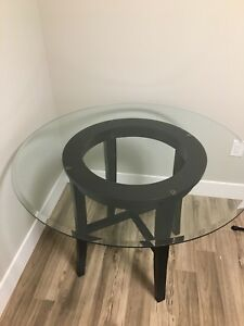 Glass Dining Table/Breakfast Nook
