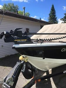2016 fish hawk 1650 platinum edition Used once