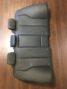 Bmw 328xi rear seats in Dakota black leather EUC