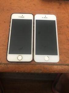2 iphone 5s's