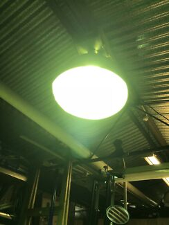 Big light with 10 amp plug
