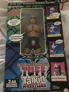 TUFF TALKIN WRESTLERS ACTION FIGURE