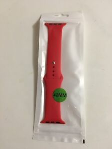 Apple Watch 42mm Silicone Strap