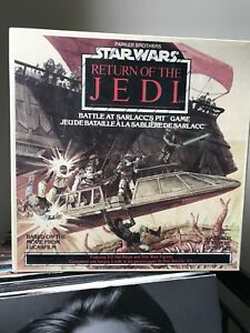 Star Wars Battle At Sarlacc's Pit 1983 Game New