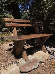 Outdoor/patio wooden bench North Willoughby Willoughby Area Preview