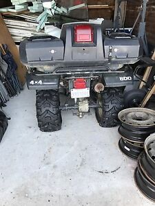 Yamaha grizzly 600 avec winch