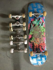 Skateboard and parts