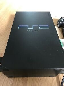 PlayStation 2 with two controllers  - Great Condition
