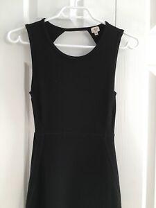 Wilfred Aritzia Black Body-Con Dress Size XXS/XS