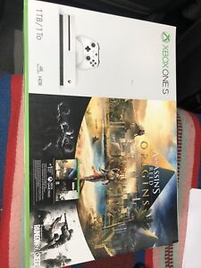 New Xbox One S - 1 TB - Assassins Creed Bundle