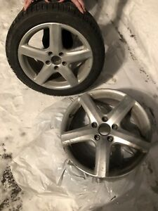 Roues/Mags audi/volks 5x112