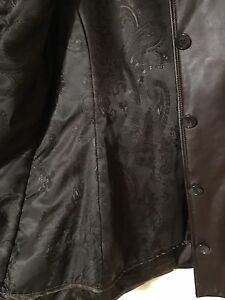 Danier Leather mid leather jacket with liner. Fall/winter