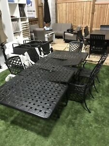 CLEARANCE Extension Patio Dining Set