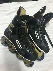 Bauer rolled blades new
