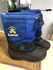 Boys size 12 Kamik boots