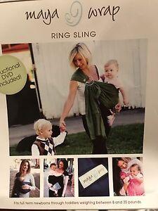 Maya Wrap ring sling - size small - purple