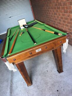 6ft/3.5ft slate pool table for sale