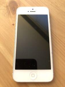 Unlocked iPhone 5 Silver 16GB