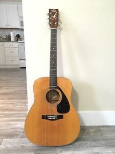 Guitar and Case with Tuner and Picks