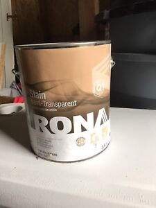 4 Gallons unopened Exterior Stain