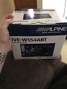 Alpine IVE-W554ABT headunit Queanbeyan Queanbeyan Area Preview