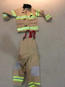 Firefighter costume boys