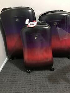New Heys Ombré Sunset 3pc Luggage