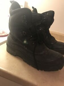 Thinsulate Work Boots Steel Toe & Bottoms Size XL