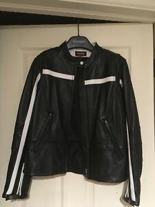 Woman's size Small Leather Motorcycle Jacket