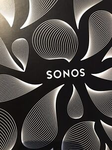 New Sonos one black sealed box with Alexa in-built
