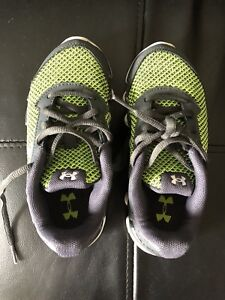 Boys size 12 Under Armour shoes