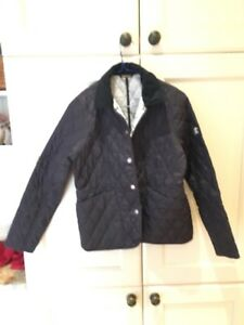 Barbour girls cromer quilt coat XL - like new