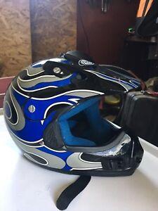 Youth Large motorcycle helmet