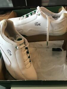 Brand new in box Lacoste shoes size 9.5