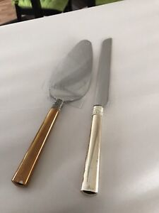 Vera Wang Cake Knife and Server