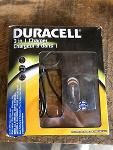 Duracell 3in1 charger