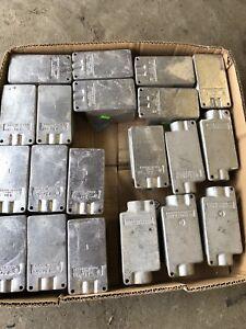 Crouse Hinds Conduit Cast Device Boxes - 20pcs
