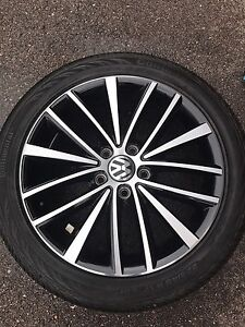 VW tires and rim